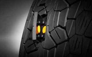 Automobili: I sensori nella gomma creano gli pneumatici intelligenti