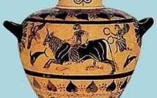 Cultura: platani  tauromachia  toro  zeus