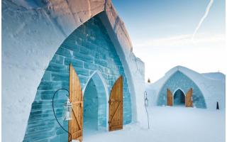Viaggi: viaggio  vacanza  albergo  ghiaccio