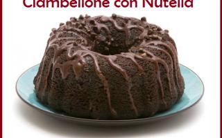 Ricette: ricetta  dolce  nutella  cioccolato