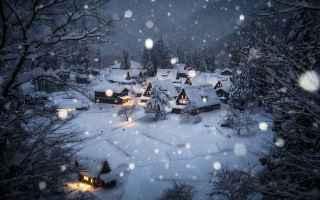 Foto online: fotografia giappone neve inverno