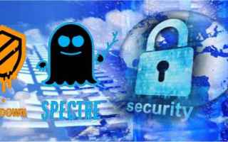 Sicurezza: meltdown  spectre  virus  bug  hardware