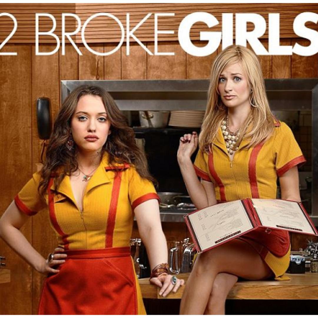 serie tv  televisione  2 broke girls