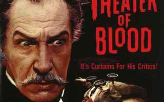Cinema: douglas hickox  vincent price  oscar insaguinato  theatre of blood