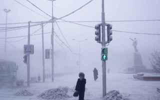 dal Mondo: yakutsk  inverno  freddo  meteo