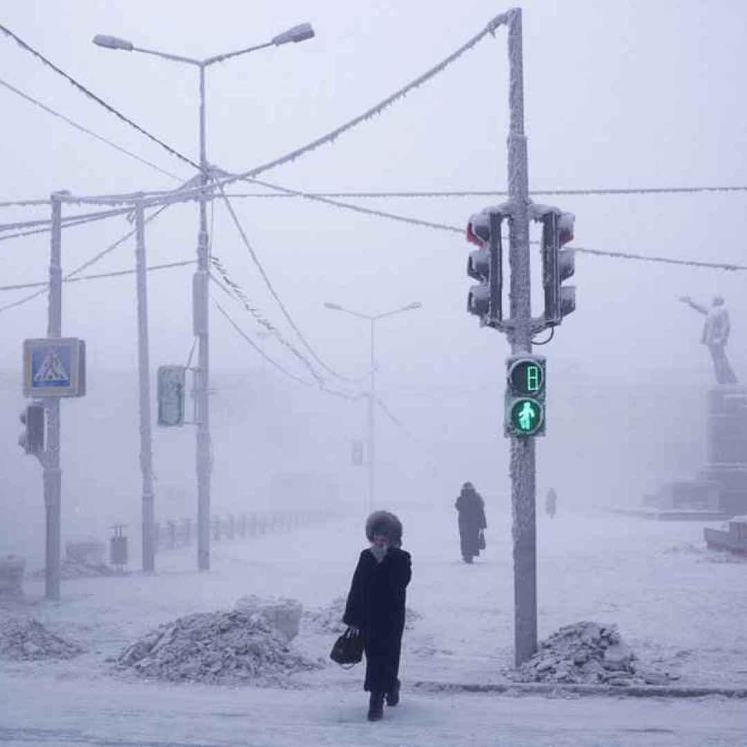yakutsk  inverno  freddo  meteo