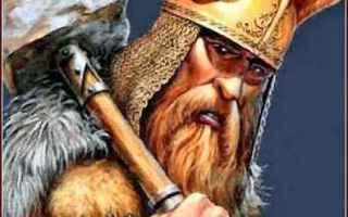 Religione: mitologia  norrena  odino  thor  tuono