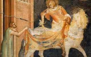 Arte: pittura  simone martini  affreschi