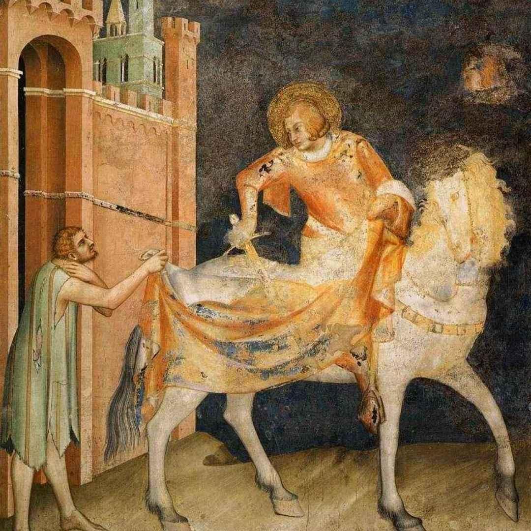 pittura  simone martini  affreschi