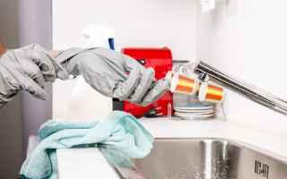 Casa e immobili: pulizia  risparmio  casa