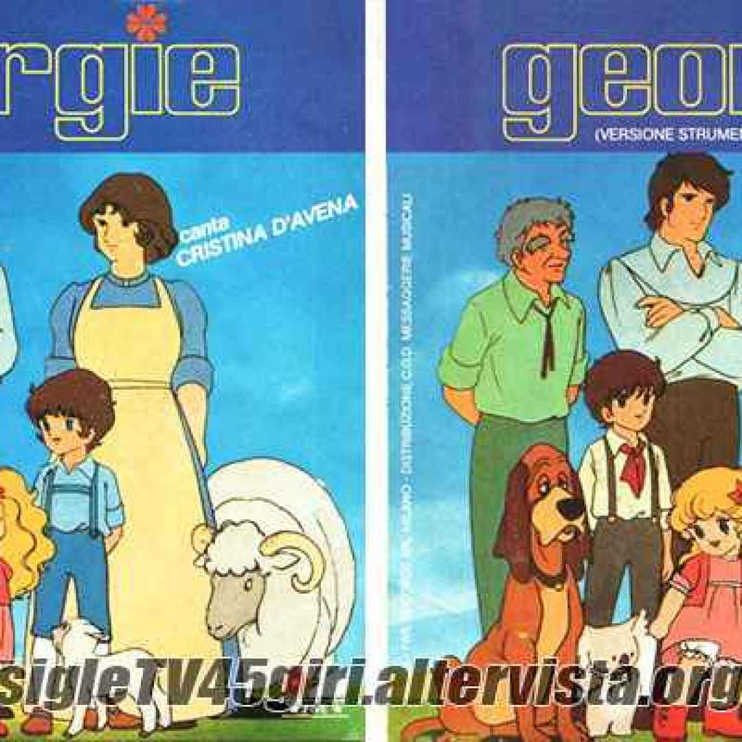 Sigla del cartone animato lady georgie