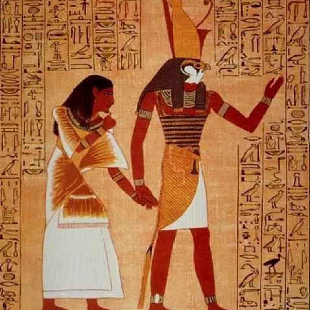 hathor  horus  iside  nefti  nilo
