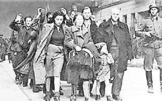 Storia: giorno della memoria ebreo guerra fame
