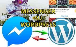 Blog: facebook  messenger  wordpress  livechat