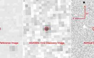 Astronomia: supernova  stelle