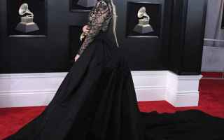 Moda: lady gaga  grammy awards  look