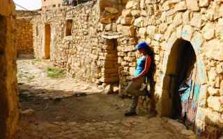 borghi  giordania  dana  medio oriente