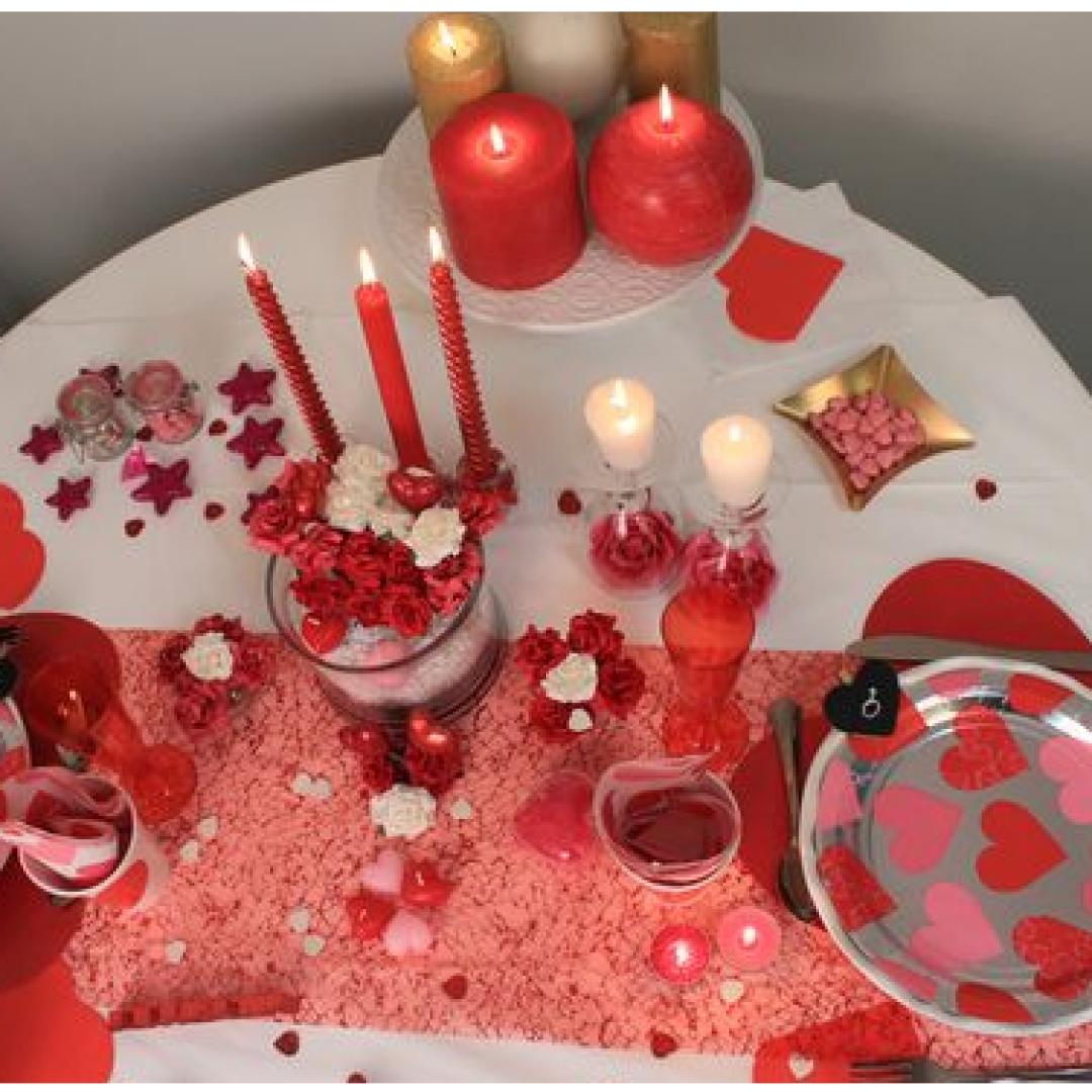 Come decorare la tavola per san valentino decorare - Tavola di san valentino ...