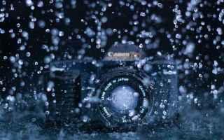 Fotocamere: fotografia sony canon nikon pioggia