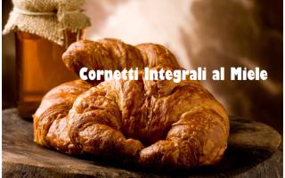 cornetto  croissant  miele  integale