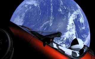 Automobili: tesla  fotografia  spazio  marte  terra