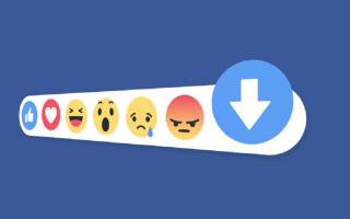 Facebook: facebook  commenti  downvote