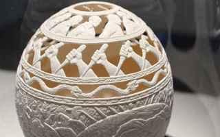 arte. scultura  uova  stati uniti