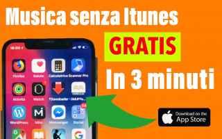 iPhone - iPad: musica gratis  musica senza itunes