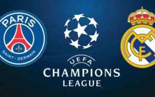 Champions League: real madrid  psg