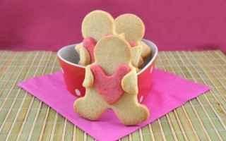 Ricette: ricetta  biscotti  san valentino  cuore