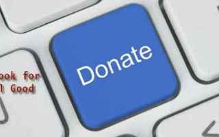 facebook  social good  raccolta fondi
