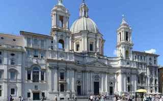 Cultura: piazza navona  prosa rimata  barocco