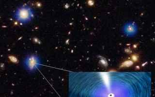 buchi neri supermassicci  galassie