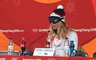 Sport Invernali: ledecka  snowdoard  occhiali  olimpiadi