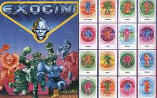 Giochi: exogini  giocattoli  anni 80  collezioni