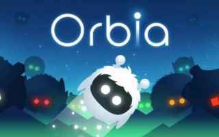 Mobile games: orbia  endless game