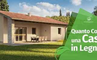Casa e immobili: prezzi case in legno  case prefabbricate