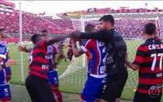 Calcio Estero: bahia  vitoria  rissa