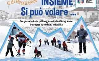 Torino: prali  disabili  sci
