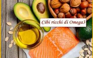 omega 3  cibo  alimentazione  salute