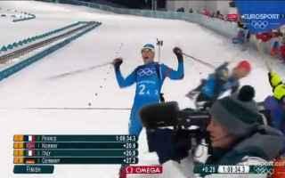 olimpiadi  biathlon  short track