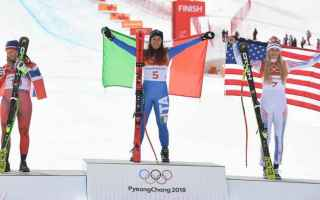 Sport Invernali: goggia  sofia goggia  olimpiadi