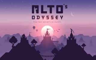 Mobile games: alto's odyssey  iphone  ios  videogames