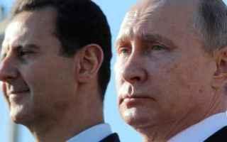 dal Mondo: putin  russia  siria  assad  iran