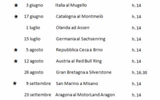 Motori: sky  formula 1  motogp  calendario