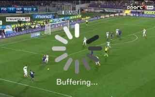 Serie A: streaming  calcio in tv