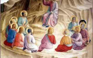 Religione: afflitti  beatitudini  cieli  gesù