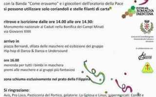 Notizie locali: castel bolognese  carnevale
