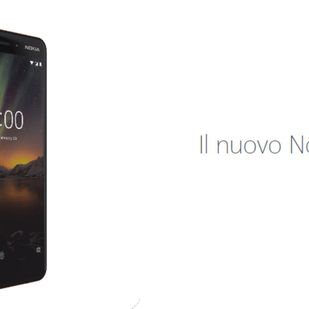 nokia 6 2018  nokia  android one  mwc