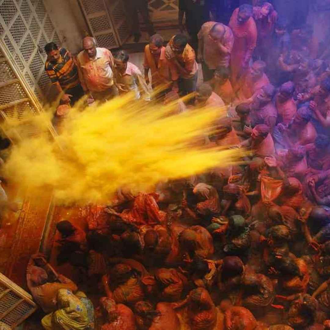festa  fotografia  india  colori  primavera